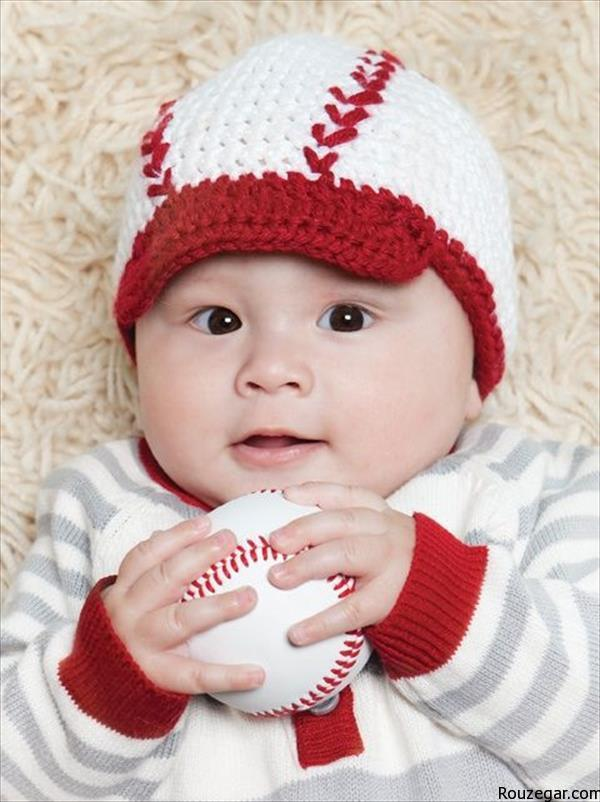 chic baseball baby hat pattern