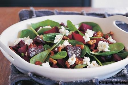 Beetroot and walnut salad recipe