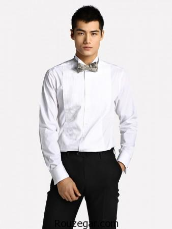 model-mens-shirt-with-bow-tie-rouzegar-8
