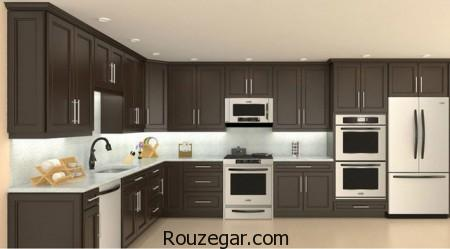 for Model kitchens with white cabinets