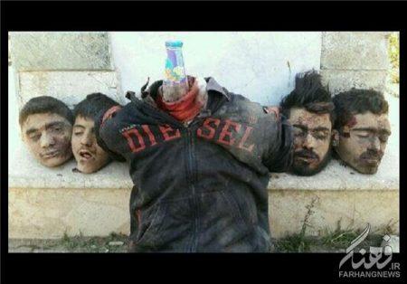 جنایت داعش به سرکردگی شیشانی در «اعزاز»