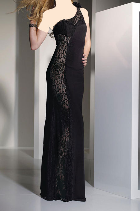 مدل لباس شب مشکی 2015, مدل لباس شب مشکی