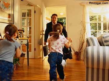 بازگشت همسر به خانه,رفتار صحیح مرد, رفتار صحیح زن