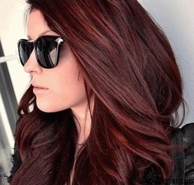 جدیدترین مدل رنگ مو دخترانه و زنانه,جدیدترین مدل رنگ مو