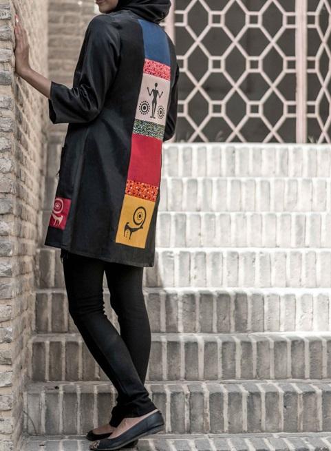 manto irani 11 مدل مانتو سنتی رنگ سال 1394 + مدل مانتو
