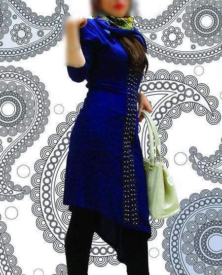 مدل مانتو دخترانه نوروز 94 + مدل مانتو