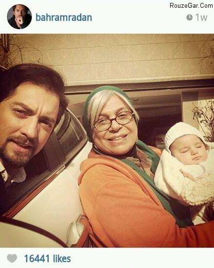bahram radan1 جدیدترین عکس های بازیگران ایرانی در اینستاگرام