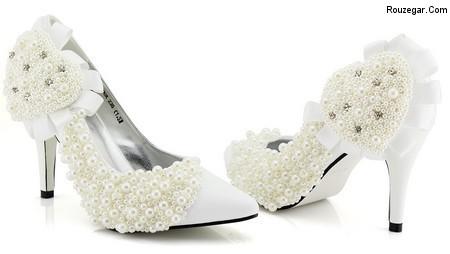 k aroos 5m 7 مدل کفش عروس 2015