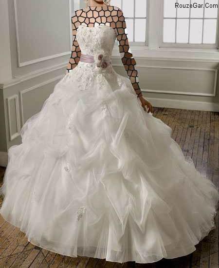 l a 27m 2 مدل لباس عروس ۲۰۱۵ سری ششم