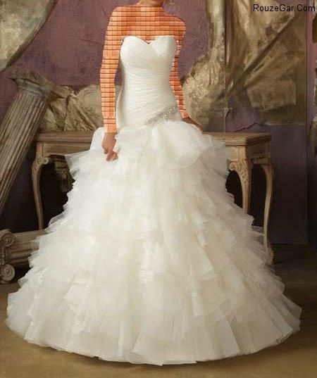 l a 27m 8 مدل لباس عروس ۲۰۱۵ سری ششم