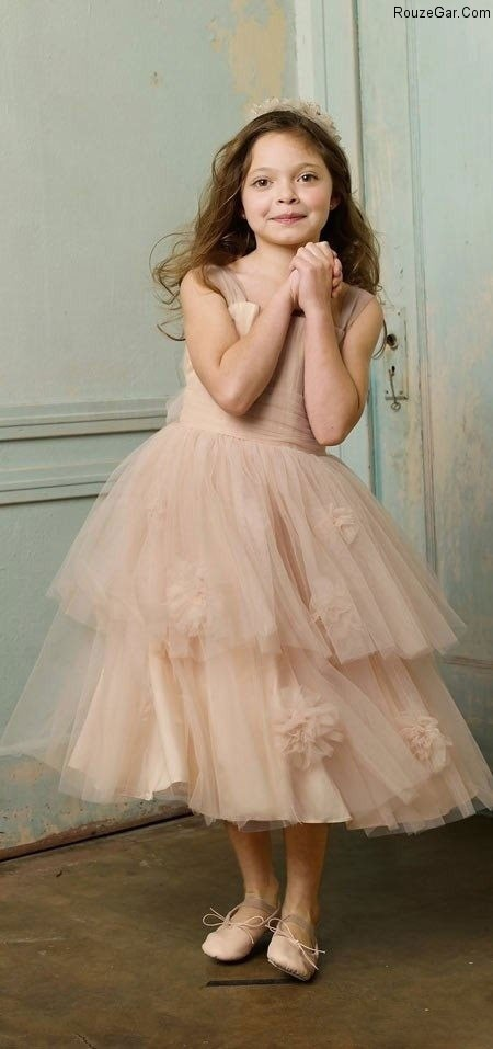 مدلهای جدید لباس عروس بچه گانه,مدل لباس عروس بچه گانه