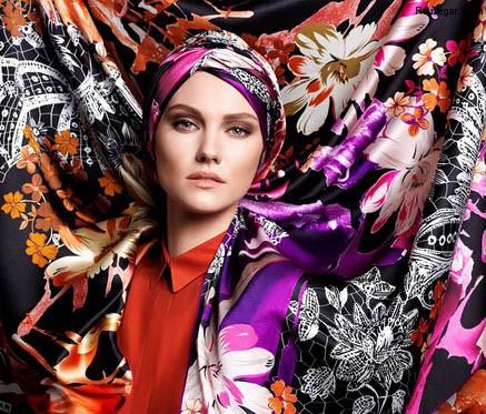 rosari 2015 10 2 مدل روسری 2015