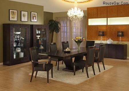 شیکترین مدل میز غذاخوری و مدل میز ناهار خوری 2015 - 1394