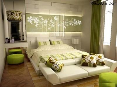 رمانتیک ترین دکوراسیون های اتاق خواب
