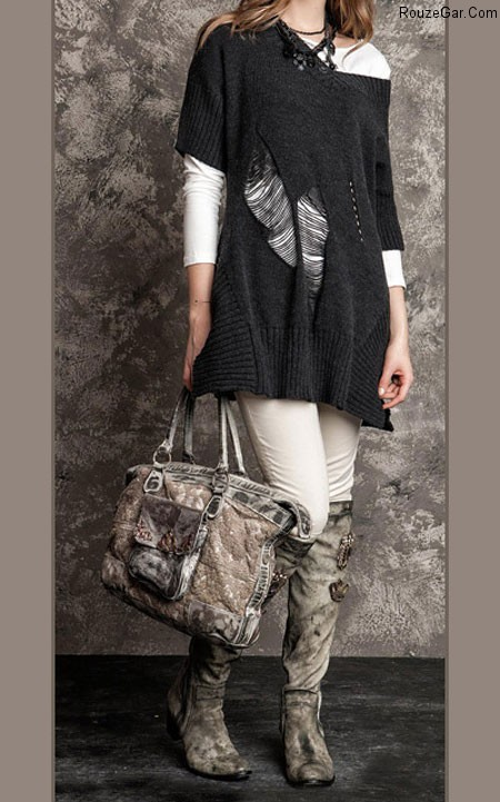لباس پاییزی زنانه,لباس زمستانی زنانه