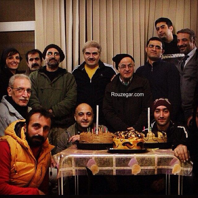 عکس های جدید و شخصی علی طباطبایی + بیوگرافی علی طباطبایی