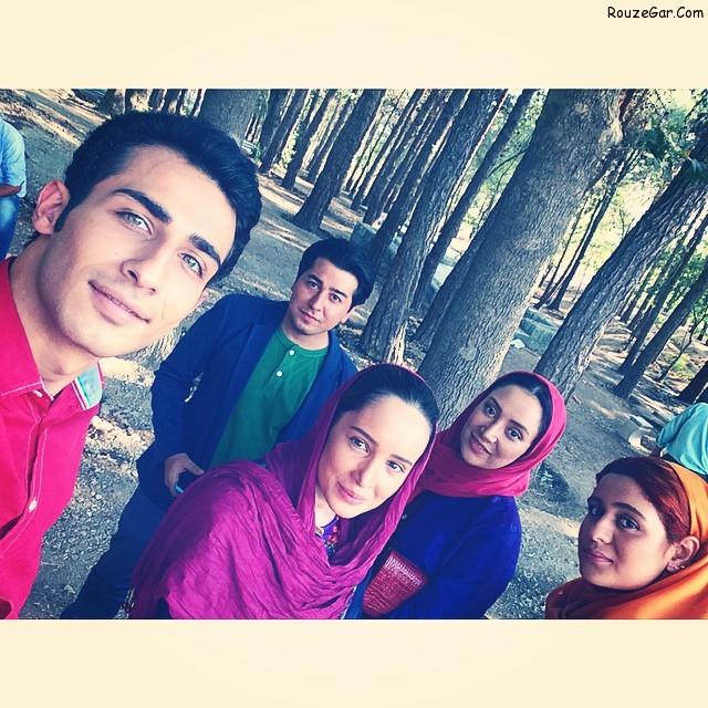 عکس های مهران ضیغمی بازیگر نقش خشایار در سریال آخرین بازی