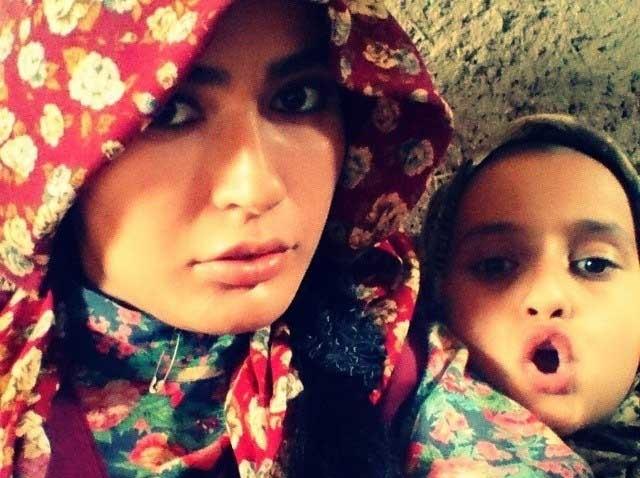 عکس های جدید و بیوگرافی شیوا طاهری بازیگر سریال گذر ار رنج ها