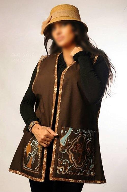 جدیدترین مدل مانتو و مدل لباس دخترانه از برند ایرانی مزون قاجار Qajar Mezon
