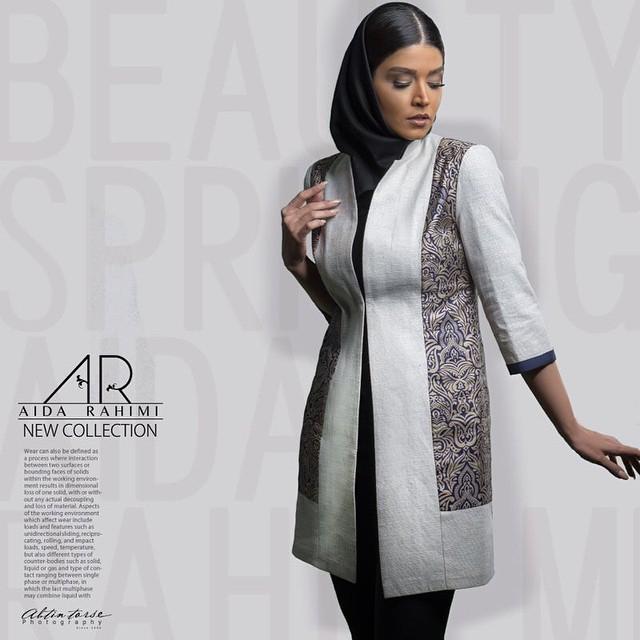 شیکترین مدل مانتو سنتی آیدا رحیمی 2015 – Aida Rahimi سری سوم