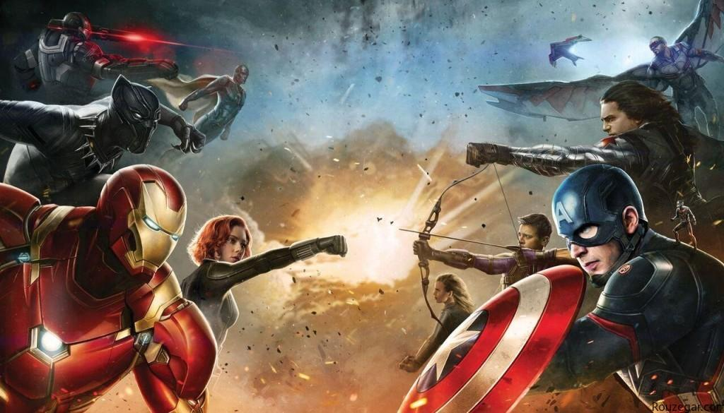 فیلم سینمایی کاپیتان آمریکایی : نزول ابر قهرمان