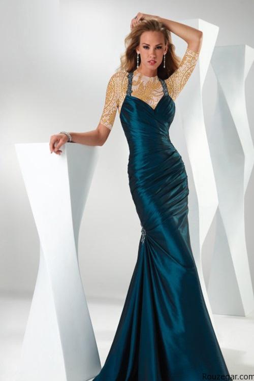 مدل لباس مجلسی بلند 2016