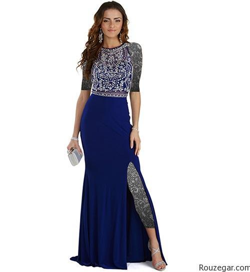 مدل لباس شب 2016