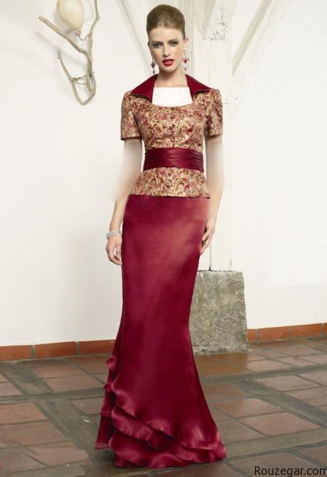 مدل لباس مجلسی رنگ سال 1395