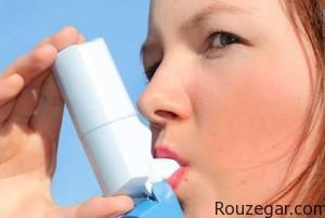 بیماری آسم چیست ؟