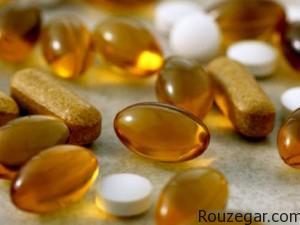 جلوگیری از بیماری با مکمل های ویتامین