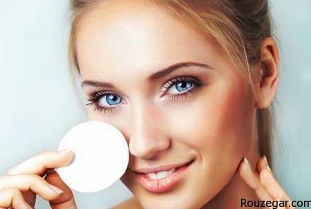 اصول صحیح پاک کردن آرایش از روی صورت