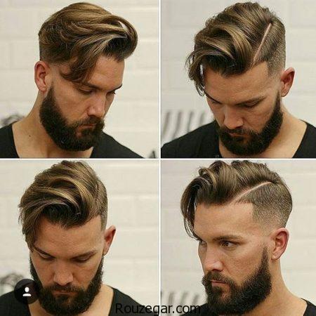 مدل مو مردانه خامه ای کوتاه ، مدل مو پسرانه خامه ای بلند