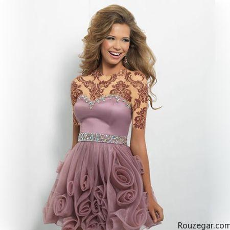 مدل لباس شب,مدل لباس شب ۲۰۱۶,مدل لباس شب ۱۳۹۵,مدل لباس شب کوتاه,لباس شب کوتاه دخترانه