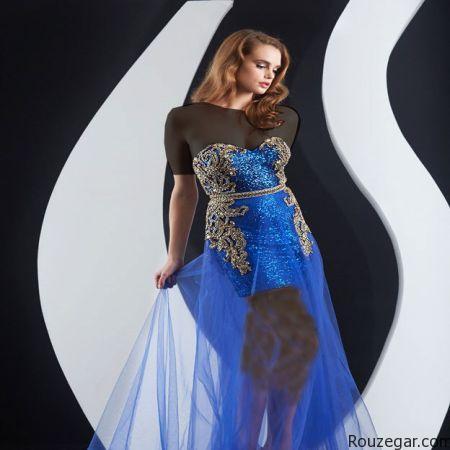 مدل لباس مجلسی,مدل لباس مجلسی کوتاه,لباس مجلسی کوتاه گیپور,