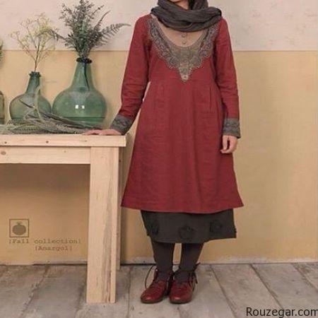 مدل مانتو , مانتو رنگ سال 1395 , مانتو ,مدل مانتو مجلسی