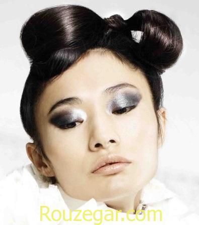 مدل مو شینیون,مدل مو شینیون 2017,مدل مو شینیون باز,مدل مو شینیون عروس 2017,مدل مو شینیون بسته 2017,مدل مو شینیون