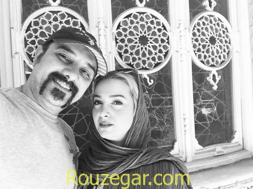 Borzou Arjmand,برزو ارجمند و همسرش,برزو ارجمند