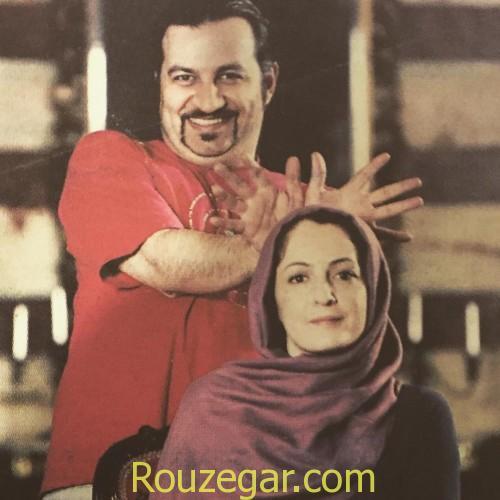 مهراب قاسم خانی و همسرش,مهراب قاسم خانی ,شقایق دهقان ,