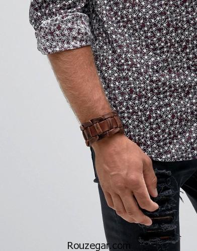 دستبند مردانه چرمی، دستبند چرمی، دستبند مردانه چرمی 2017
