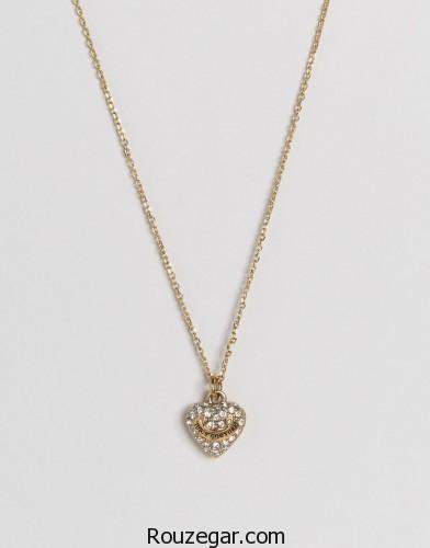 مدل گردنبند 2017،  مدل گردنبند دخترانه، مدل طلا و جواهرات، مدل طلا و جواهرات الماس و بولگاری، مدل سرویس جواهرات