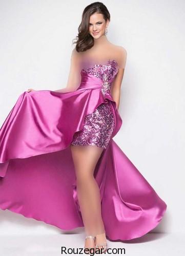 مدل لباس شب 96،مدل لباس شب کوتاه و بلند، مدل لباس شب 2017