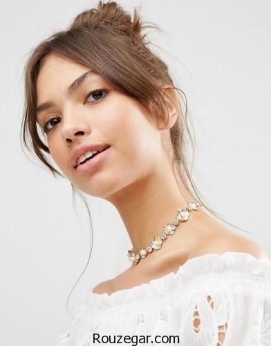 مدل گردنبند 2017،مدل گردنبند طلا و مروارید، مدل گردنبند زنانه و دخترانه