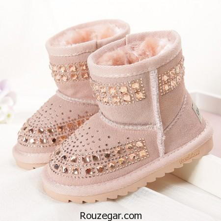 مدل پوتین بچه گانه دخترانه، مدل کفش بچه گانه زمستانی، مدل پوتین دخترانه