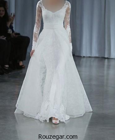 مدل لباس عروس ایرانی، مدل لباس عروس ایرانی پف دار