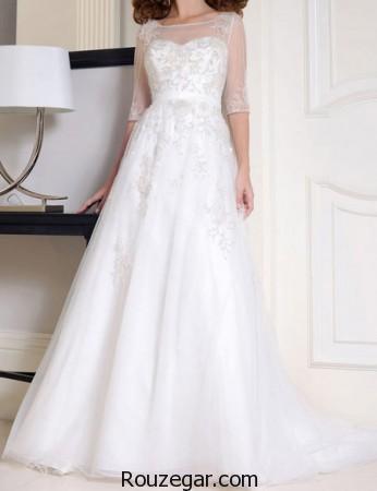 مدل لباس عروس پوشیده ایرانی ، مدل مدل لباس عروس پوشیده ایرانی با کلاه