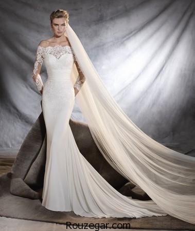 مدل لباس عروس,مدل لباس عروس اروپایی,مدل لباس عروس ایرانی,مدل لباس عروس اروپاییآستین دار ۲۰۱۷