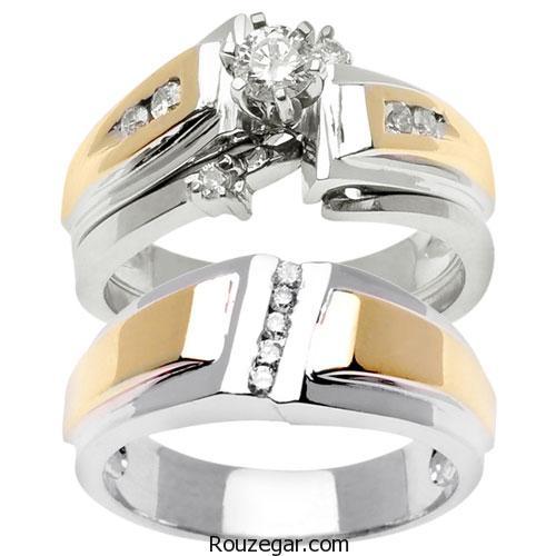 مدل حلقه ازدواج 2017، مدل حلقه ازدواج ست