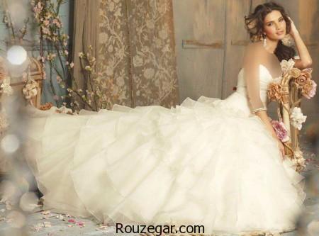 مدل لباس عروس دنباله دار، مدل لباس عروس دنباله دار 2017،مدل لباس عروس دنباله دار 96