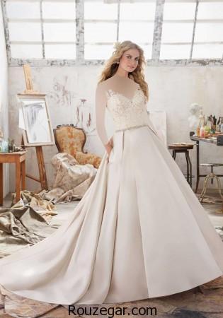 ژورنال انواع مدل لباس عروس ۲۰۱۷ ایرانی و اروپایی سری اول