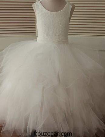 مدل لباس عروس بچه گانه پرنسسی ، مدل لباس عروس بچه گانه پرنسسی 2017، مدل لباس عروس بچه گانه